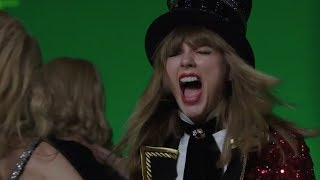 "Taylor Swift FREAKS OUT While Filming Her ""Former Selves"" in Music Vid"