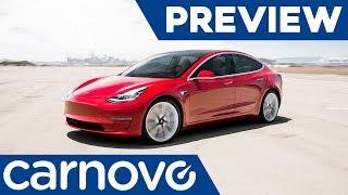 5 curiosidades del Tesla Model 3 - Preview / Opinión / Novedades | Carnovo