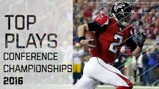 Top Plays of Conference Championship Sunday   NFL Highlights