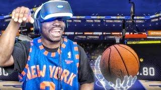 NBA 2K17 VIRTUAL REALITY GAMEPLAY ON PLAYSTATION VR! (2KVR)