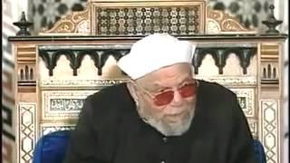 تفسير الشيخ الشعرواي ـ وَمَا خَلَقْتُ الْجِنَّ وَالْإِنْسَ إِلَّا لِيَعْبُدُونِ
