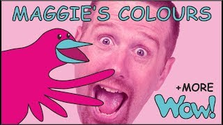 What colour is it, kids? Color Stories for children with Steve and Maggie | Speak Wow English TV
