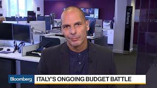 Varoufakis Says Italy