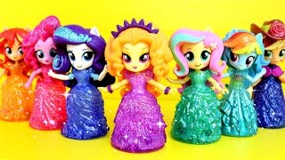 Equestria Girls Princess Toys Surprises! My Little Pony Switch Disney Princess Magiclip, Adagio