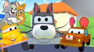 Lakiernia Toma Holownika: Tim i Jerry    Bajki o samochodach dla dzieci