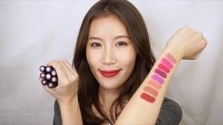 Celeste Wu 大沛 | Buxom光澤、霧面唇膏心得&試色