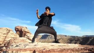 Harihar Dash Free Styling At The Grand Canyon