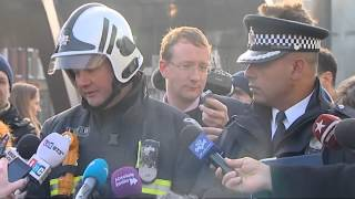 London helicopter crash: police statement