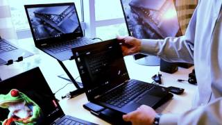Hands-On Lenovo ThinkPad X1 Yoga, X1 Carbon And X1 Tablets - CES 2016