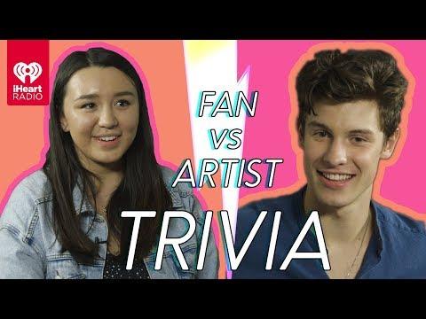 Shawn Mendes Challenges A Super Fan In A Trivia Battle Fan Vs. Artist Trivia