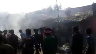 Bajrangdal Destroyed Muslim Shopes ,House...