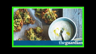 US Newspapers - Matt morans zucchini and feta fritters with yogurt dipping sauce