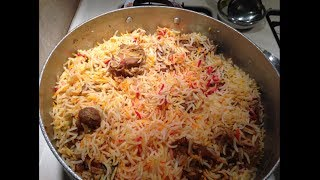 BIRYANI (HOW TO COOK PERFECT BIRYANI) - Pakistani/Indian Cooking with Atiya