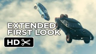 Furious 7 Official Extended First Look - Plane Drop (2015) - Paul Walker Movie HD