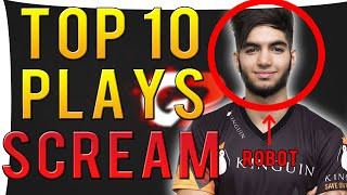 CS:GO - Top 10 ScreaM Moments (Stream Highlights)