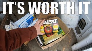 A FULL Day of Trash Picking - Auction Things - And A Thrift Store