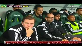 مباراة الجزائر 1 2 غينيØ