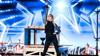 Josephine Lee works her magic on the Judges | Auditions Week 3 | Britain's Got Talent 2017