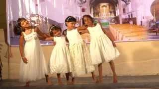 Kunjilam Kaikal Neetti    Group Dance by Malayalam Christian Community Horsham