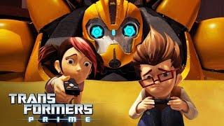 Transformers Prime : The Game All Cutscenes | Full Game Movie (WiiU)