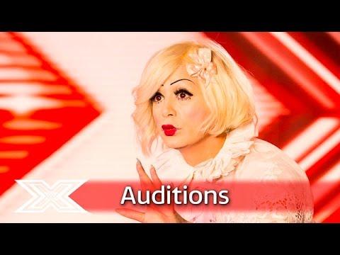 """Living Doll"" Sada Vidoo covers Pat Benatar classic | Auditions Week 2 | The X Factor UK 2016"