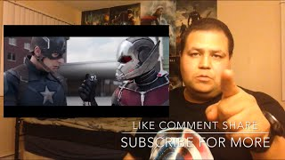 CAPTAIN AMERICA: CIVIL WAR Movie Clip - Ant-Man's Water Truck (2016) REACTION!!