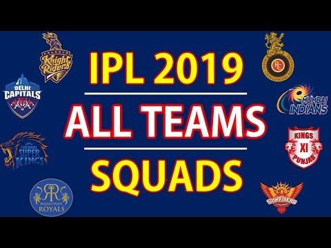 Xxx Mp4 IPL 2019 All Teams Squads RCB MI CSK KKR KXIP RR SRH DCS 3gp Sex