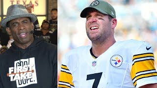 Deion Sanders rips Ben Roethlisberger and his impact on the Steelers l First Take