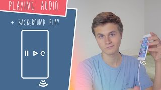 Playing Audio + Background Play! (Swift 3 in Xcode)
