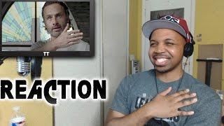 REACTION to Walking Dead Season 6 Episode 12 Not Tomorrow Yet 6x12