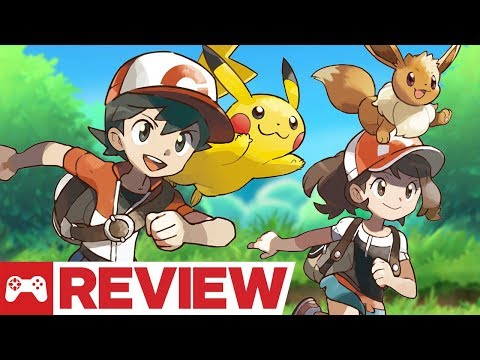 Pokemon Let s Go Pikachu and Eevee Review