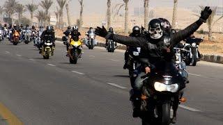 اكبر تجمع لراكبى الدرجات الناريه فى مصر