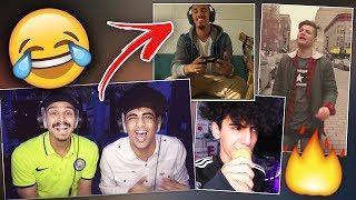 ردة فعلنا على أغاني اليوتيوبرز 😂🎼 ..
