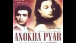 Ae dil meri wafaa mein audio (Anokha Pyaar) (1948).wmv