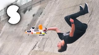 NERF Parkour Trickshots - Storror AD