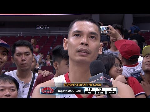 Best Player: Japeth Aguilar | PBA Governor's Cup 2017