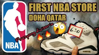 🔥🔥FIRST NBA STORE|DOHA QATAR SNEAKERS | OFW SNEAKER VLOGGER