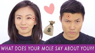 Facial Moles: What Do Yours Mean?
