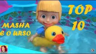 MASHA E O URSO TOP 10 Os DEZ mais vistos da Masha no canal #MASHA #MASHAEOURSO #ILOVEMASHA