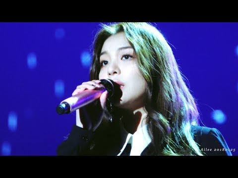 4K 에일리(Ailee) 첫눈처럼 너에게 가겠다(I will go to you like the first snow)[도깨비 OST Part 9] @180125 서울가요대상 직캠