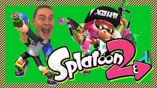 🔴 Splatoon 2 🔴 (live stream) | Turf Wars Online!  - Come and Join on Nintendo Switch!