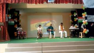 Lukka chuppi song performed by sanskaar international school students