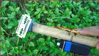 How to Make a Powerful Grass Cutter at Home 💐💐 Clean Your Garden Easy Way 🇦🇮🇦🇮 Kazi TV