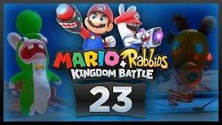 Mario + Rabbids Kingdom Battle w/ @PKSparkxx - Part 23 |