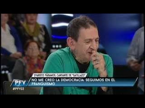 Entrevista 2015 a Evaristo cantante de LA POLLA RECORDS en TV