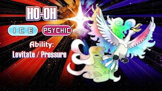 LUGIA AND HO-OH WITH ALOLA FORM!!