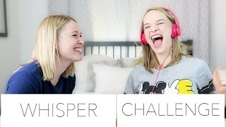 WHISPER CHALLENGE | W/ KKANDBABYJ ♡
