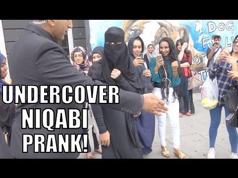 UNDERCOVER NIQABI PRANK!!