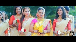 Malaysian Indian Wedding Highlights of  Remes & Pavitra By Golden Dreams Gdu