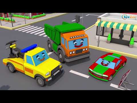 Best Toddler Learning Videos : Street Vehicles for Kids Fun Favorite Cars Autos Trucks for Children